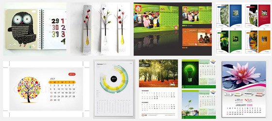 Calendar Design Services : All prints high quality printing copying and graphic
